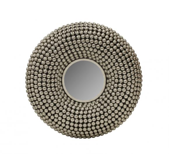 Sagebrook Home Metal Beaded Wall Mirror