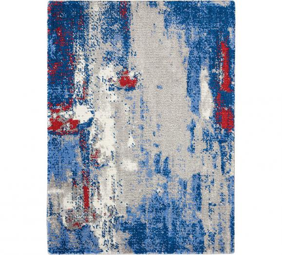 Nourison Twilight Rug in Gray and Blue