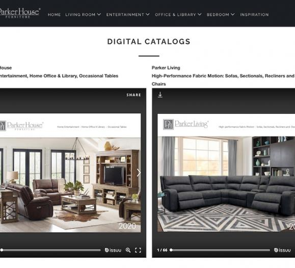 Parker House Digital Catalog