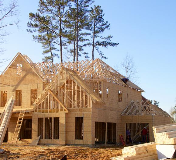 home construction rises after coronavirus lag