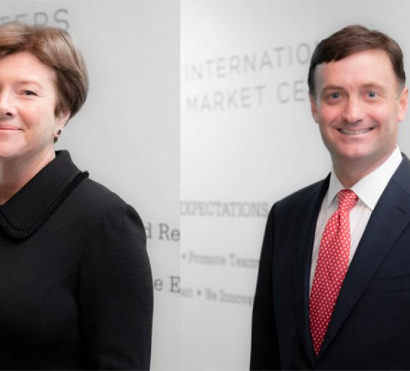 Dorothy Belshaw and Scott Eckman have been promoted into new executive leadership roles.