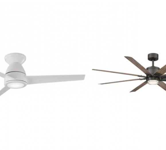 The Tip-Top and Renegade smart fans won awards in the category of connected lighting, controls, and ceiling fan products.