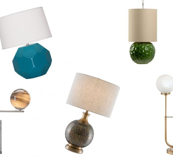 Globe Table Lamps