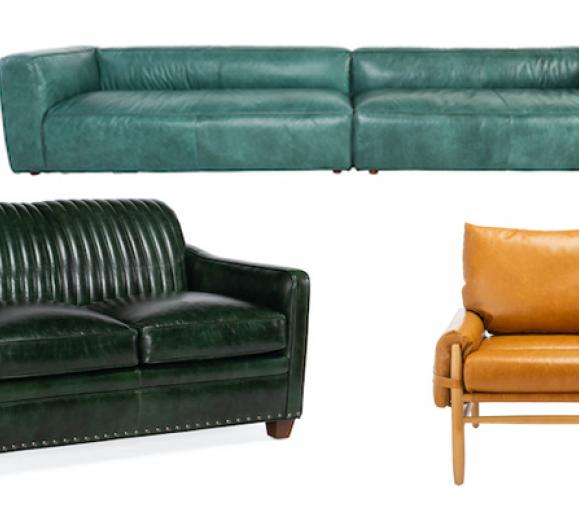 Leather Upholstered Seating