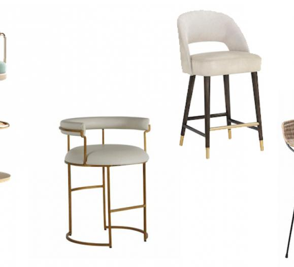 Curved Bar Stools