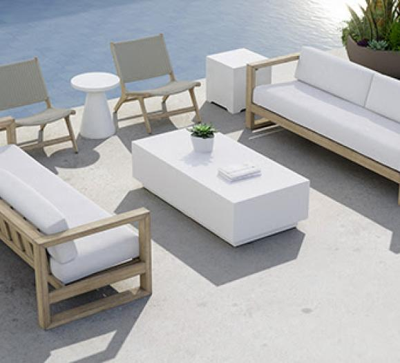 Sunset West's Coastal Teak Collection