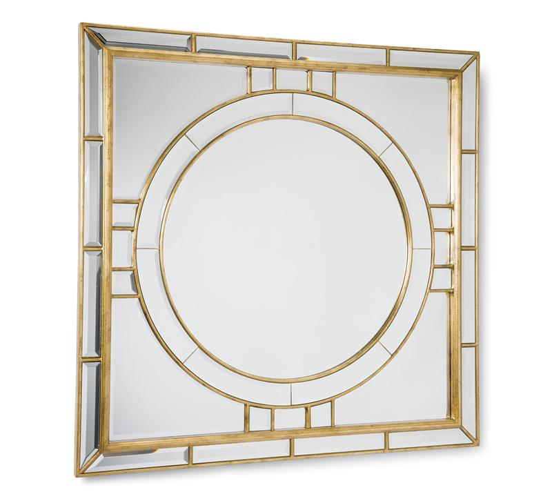 Square Beveled Mirror from Regina Andrew Design
