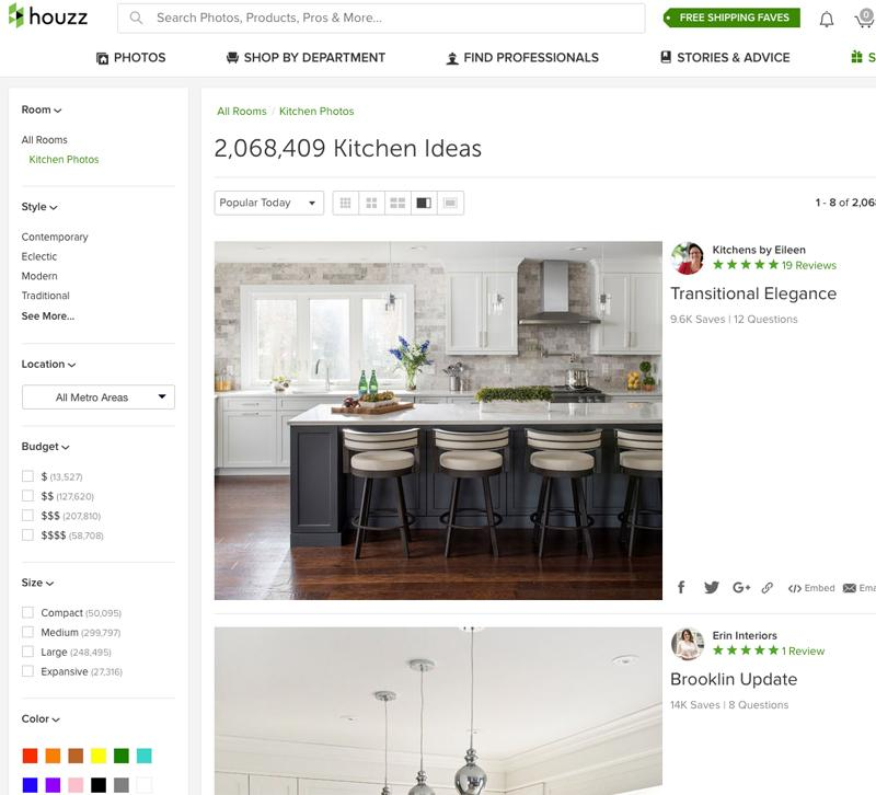 How Houzz Fits With Your Social Media Strategy Furniture Lighting Decor