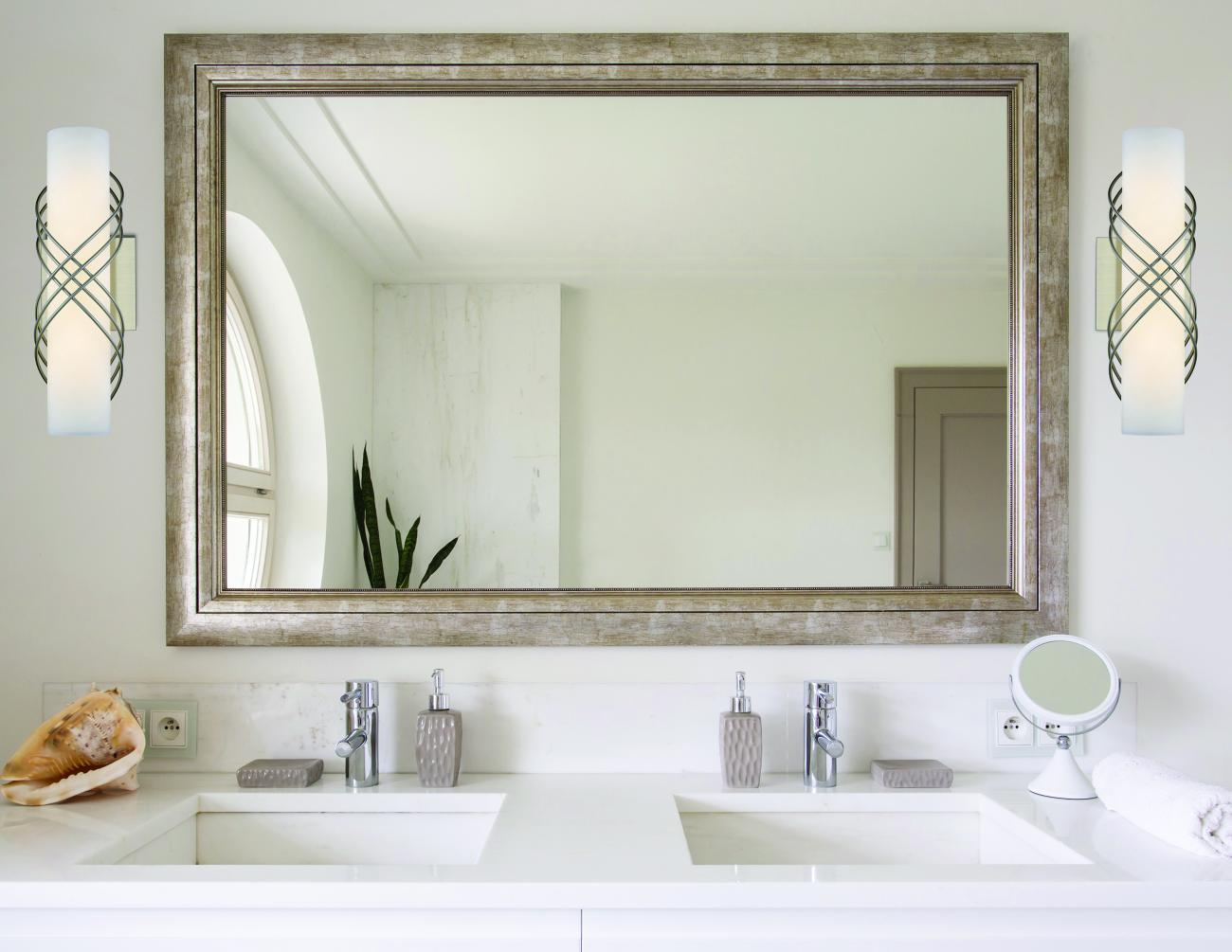 Should You Put Bathroom Lights Over The Mirror Furniture Lighting Decor