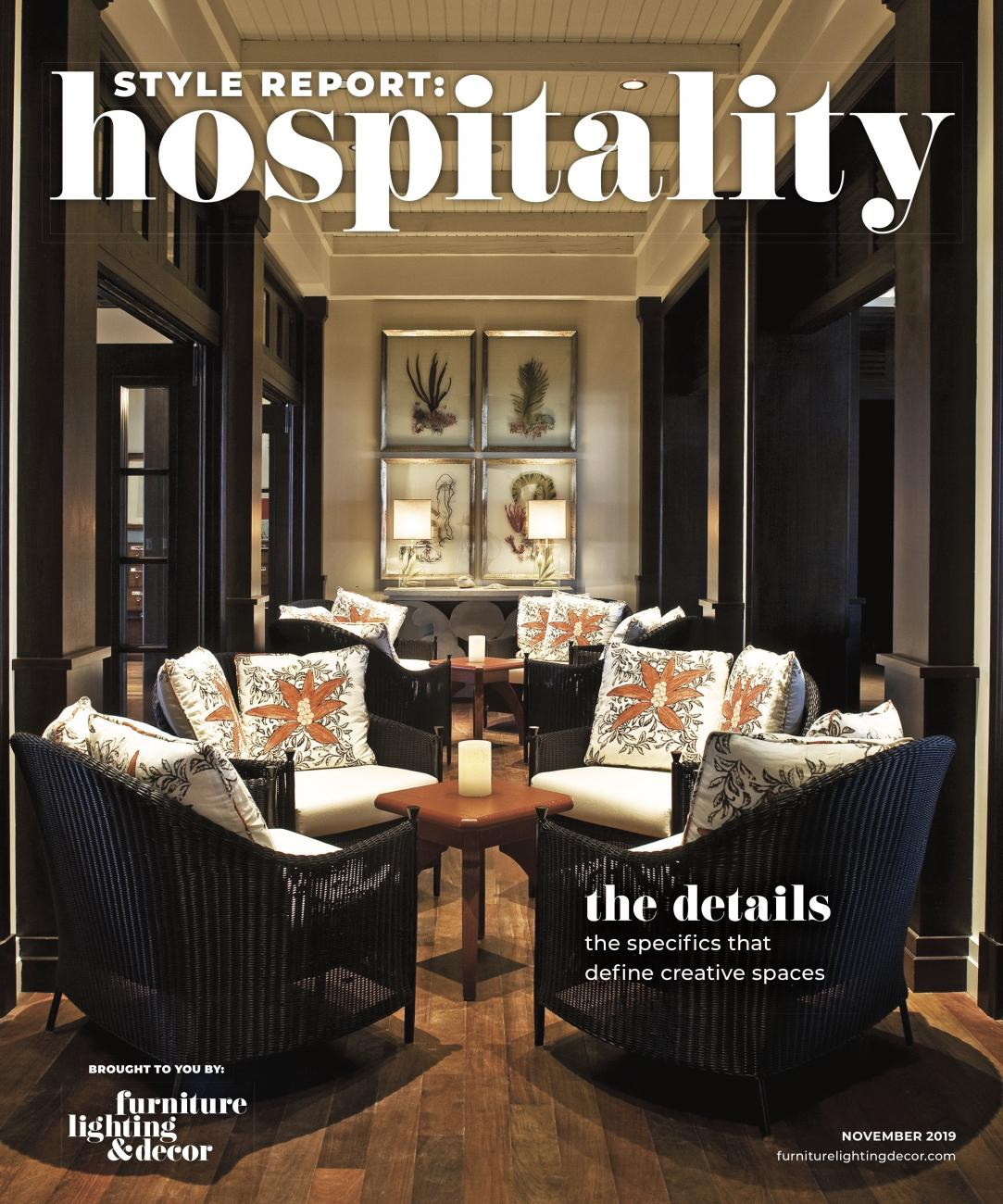 November 2019 Style Report: Hospitality