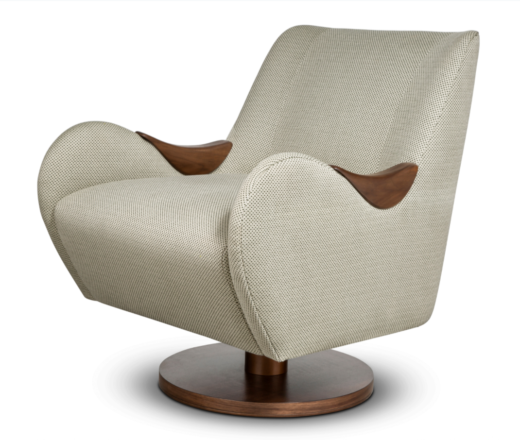 Samuelson Furniture Phorm Swivel Chair