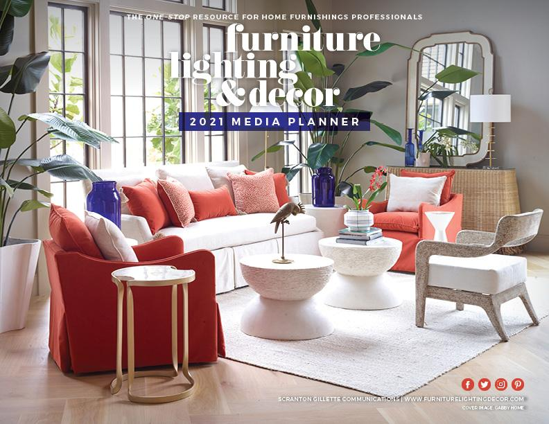 Furniture, Lighting and Decor 2021 Media Planner