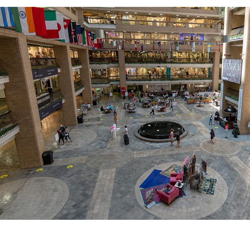 Dallas Market Center, Lightovation, Covid-19