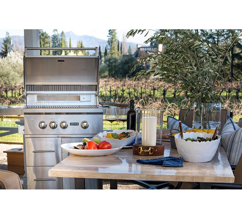 How To Design The Perfect Outdoor Kitchen Furniture Lighting Decor