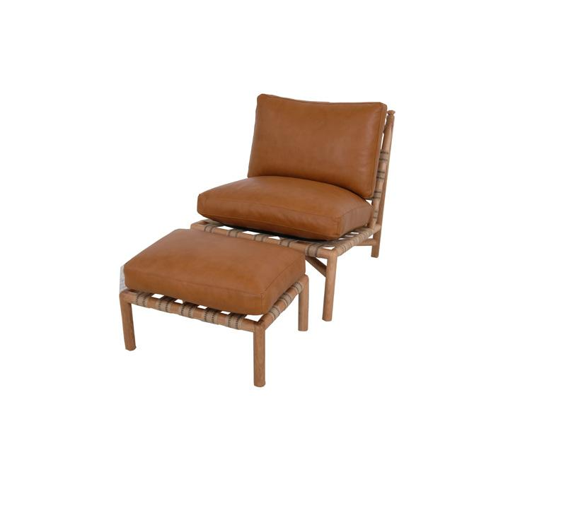 Norwalk Furniture Flannery Chair and Ottoman