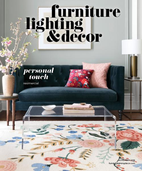 Cover of Furniture, Lighting & Decor's November 2018 issue